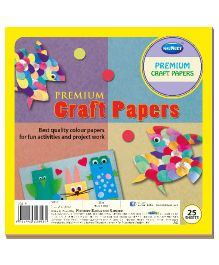 Navneet Premium Craft Paper Book - 25 Sheets
