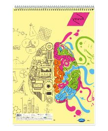 Youva Sketch Book Spiral Binding A3 Size - 36 pages