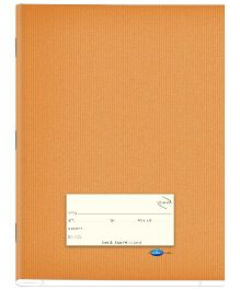 Youva Brown Note Book Soft Bound Jumbo Size Red And Blue With Gap - 172 pages