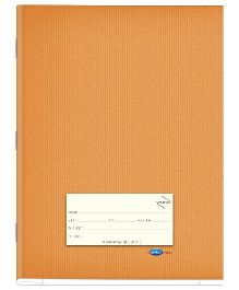 Youva Note Book Soft Bound Jumbo Size Medium Square Brown - 172 pages