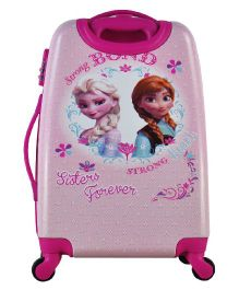 Disney Gamme Frozen Strong Bond Kids Luggage Trolley Bag - 22 Inches