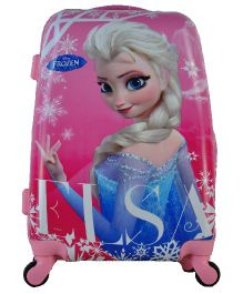 Disney Gamme Frozen Elsa Kids Luggage Trolley Bag Pink - 20 Inches