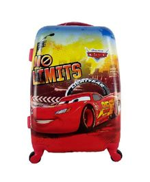 Disney Gamme Pixar Car Kids Luggage Trolley Bag Red - 20 Inches