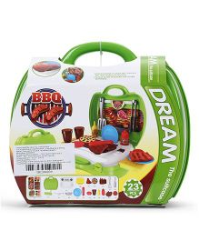 Sunny BBQ Kitchen Set Green - 23 Pieces