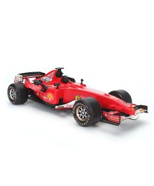 Sunny F1 Racing Friction Car With Light - Red