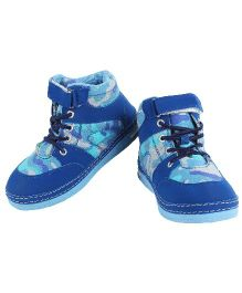 Myau Casual Shoes With Velcro Closure - Blue