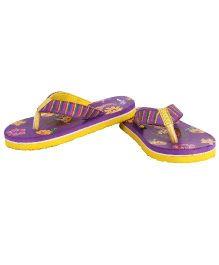 Myau Flip Flops - Purple