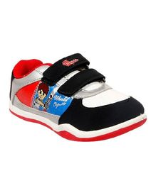 Myau Casual Canvas Shoes - Black Red