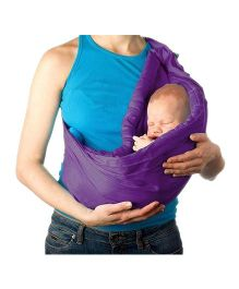 Nahshon Baby Side Carry Sling - Purple