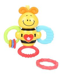 Winfun Light Up Twisty Bee Rattle - Yellow
