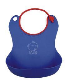 Magic Pitara Soft Baby Bib - Blue