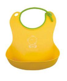Magic Pitara Soft Baby Bib - Yellow