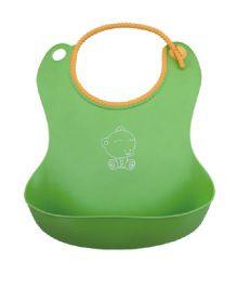 Magic Pitara Soft Baby Bib - Green