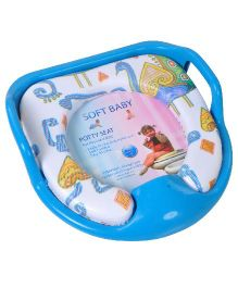 Magic Pitara Soft Baby Potty Seat - Blue