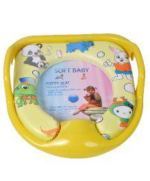 Magic Pitara Soft Baby Potty Seat - Yellow