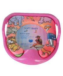 Magic Pitara Soft Baby Potty Seat - Pink