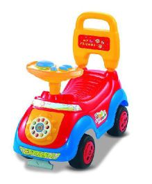 Magic Pitara Children Push Car With Music - Red