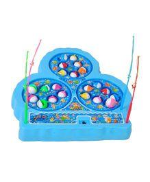 Magic Pitara Battery Operated Fishing Game Set - Multicolor