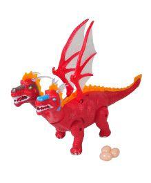 Magic Pitara Dinosaur World With Eggs - Red