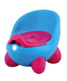 Magic Pitara New Baby Potty Seat With Cover - Blue