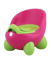 Magic Pitara New Baby Potty Seat With Cover - Pink