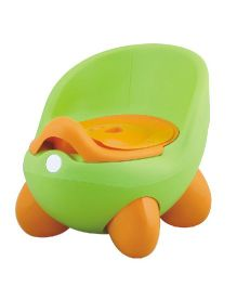 Magic Pitara New Baby Potty Seat With Cover - Green