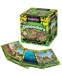 Green Board BrainBox Dinosaurs - Multicolor