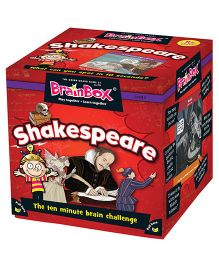 Green Board BrainBox Shakespeare Brain Game - Multicolor