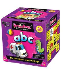 Green Board BrainBox ABC Brain Game - Multi Color