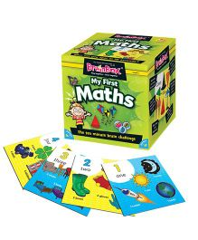 Green Board BrainBox My First Maths Brain Game - Multi Color