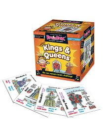 Green Board BrainBox Kings And Queens Game - Multi Color