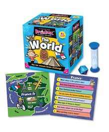 Green Board BrainBox The World Brain Game - Multi Color