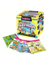 Green Board BrainBox Lets Learn German - Multi Color
