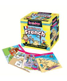Green Board BrainBox Lets Learn French Game - Multi Color