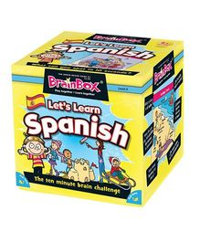 Green Board -BrainBox Lets Learn Spanish - Multi Color