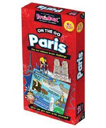 Green Board On The Go Paris Game - Multi Color