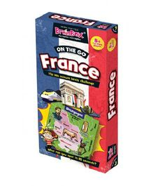 Green Board On The Go France Game - Multi Color