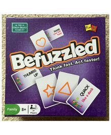 Green Board Befuzzled Card Game - Multi Color