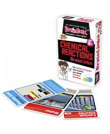 Green Board Chemical Reaction Card Game - Multicolor