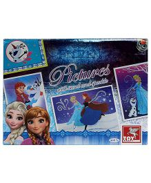 Toy Kraft Disney Frozen Pictures With Sand And Sparkle - Multicolor