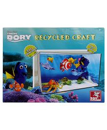 Toy Kraft Finding Dory Recycled Craft Kit - Multicolor