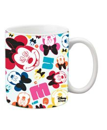 Orka Minnie Faces Digital Printed Coffee Mug Multicolor - 325 ml