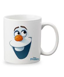 Orka Olaf Digital Printed Coffee Mug White - 325 ml