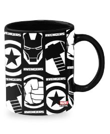 Orka Avengers Digital Printed Coffee Mug Black White - 325 ml
