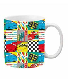 Orka Pixar Cars Digital Printed Coffee Mug Multicolor - 325 ml