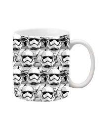 Orka Storm Trooper Digital Printed Coffee Mug Black White - 325 ml