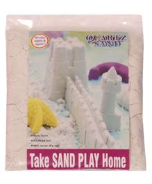 Elefantastik White Quartz Sand Plus Sand Tool And Tray - 500 Grams