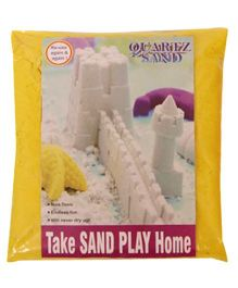 Elefantastik Yellow Quartz Sand Plus Sand Tool And Tray - 500 Grams