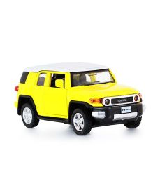 Innovador Toyota Fj Cruiser Toy Car - Yellow
