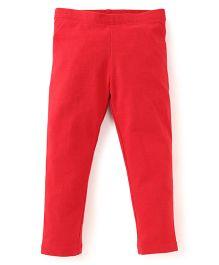 Beebay Full Length Leggings - Red